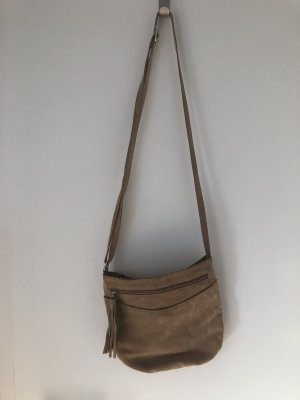 Crossbody bag light brown