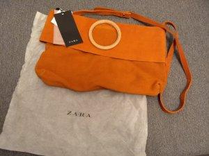 Wildleder Tasche von Zara