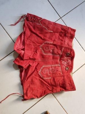 Esmara Pantalon bavarois rouge daim