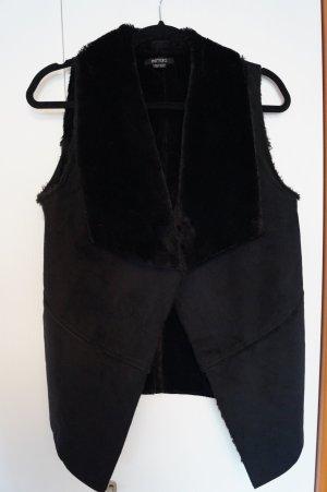 Esmara Fake Fur Vest black
