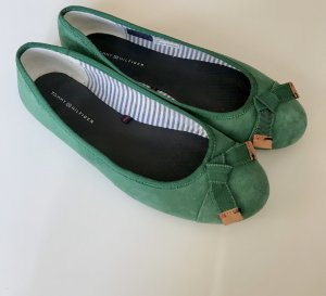 Tommy Hilfiger Ballerinas with Toecap green-forest green