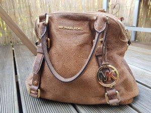Wildlederhandtasche von Michael Kors