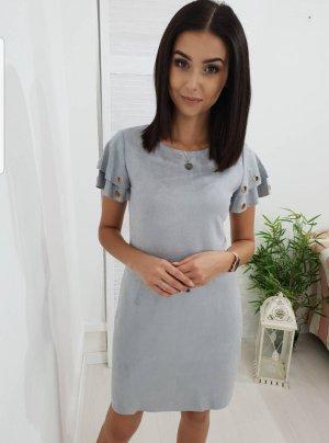 Mini-jurk grijs