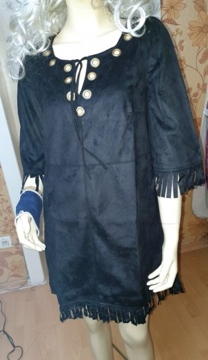 Wildlederimitat kleid Von Frima La Source Creation Neu ! Gr 36/38
