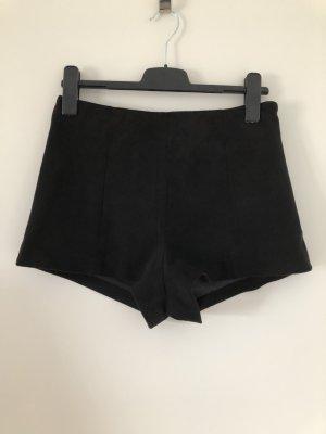 Wildlederimitat Shorts