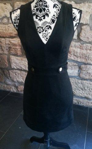 HM Leather Dress black