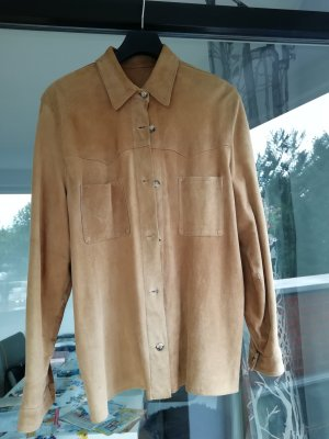 Blouse Jacket light brown leather