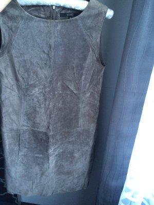 Hallhuber Leren jurk veelkleurig