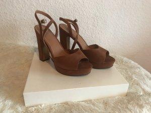 Wildlederoptik High Heels