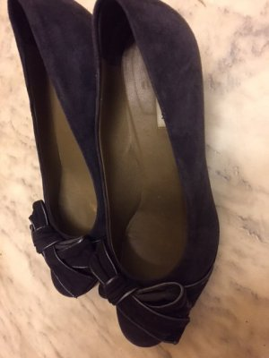 Parlanti Loafers antraciet Suede