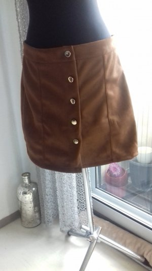 100 Leather Dress bronze-colored