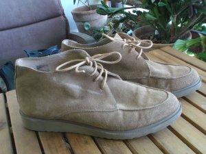 KMB Chaussures à lacets marron clair cuir