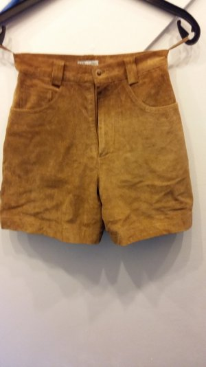 Street One Leather Trousers brown suede