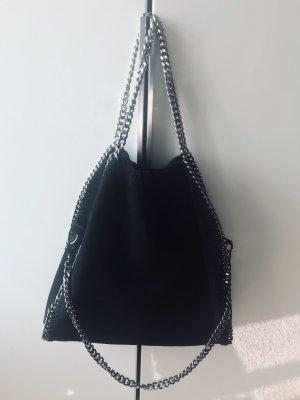 Wildledertasche