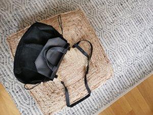Zign Pouch Bag black suede