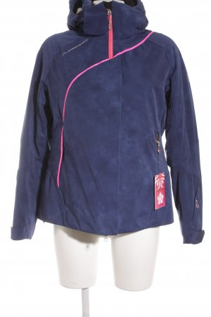 Wildroses Veste d'extérieur bleu-rose style athlétique