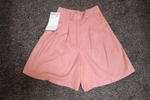 Chillytime Short taille haute vieux rose soie
