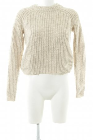 wilfred Strickpullover creme Casual-Look
