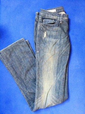 """William Rast """"Sadie - straight leg"""" Hose - Gr. 24 - blau"""