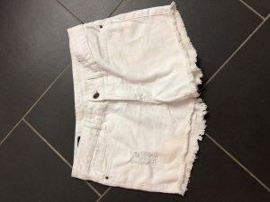 William Rast Denim Shorts white cotton