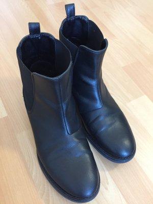 Chelsea laarzen zwart Imitatie leer