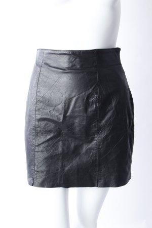 Wilsons Vintage Lederrock schwarz
