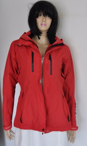 Outdoor Jacket neon red synthetic fibre