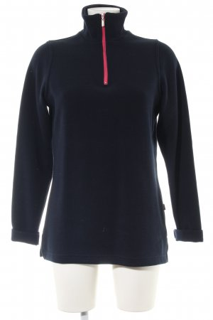 Wind Sailor Sweater black-red casual look