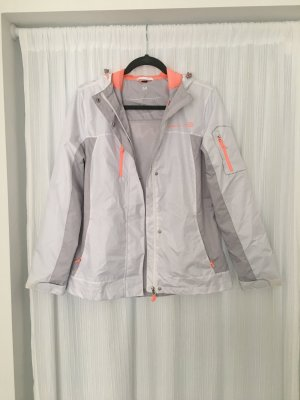 Windbreaker Jacke Gr M weiß Free Country