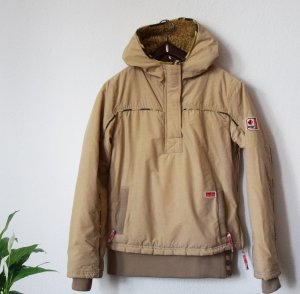 Khujo Windbreaker camel mixture fibre