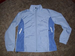 Windbreaker baby blue polyester