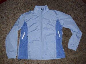 Windjack babyblauw Polyester