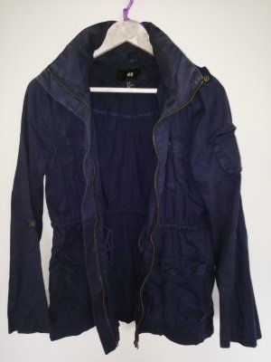 H&M Windjack donkerblauw
