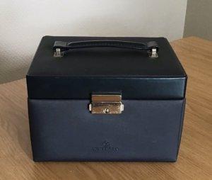 Basket Bag petrol-anthracite