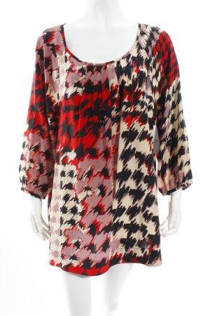 Windsmoor Schlupf-Bluse abstraktes Muster schlichter Stil