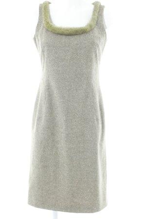 Windsor A-Linien Kleid hellbraun-grüngrau meliert Casual-Look