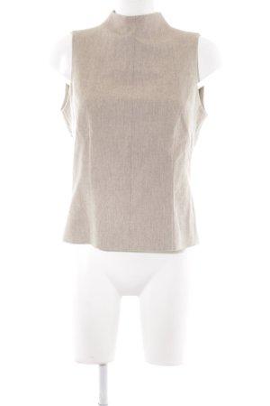 Windsor ärmellose Bluse beige Elegant