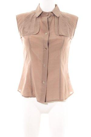 Windsor ärmellose Bluse nude Business-Look