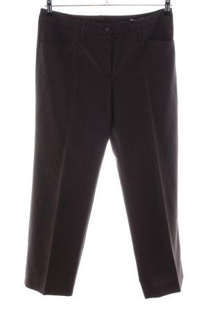 Windsor Anzughose schwarz Business-Look