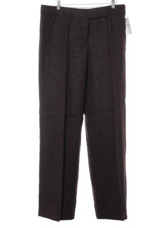 Windsor Pantalón de vestir marrón oscuro estilo «business»
