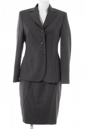 Windsor Anzughose dunkelgrau Business-Look