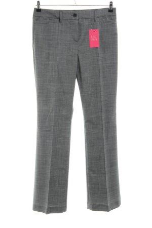 Windsor Pantalon lichtgrijs gestippeld zakelijke stijl