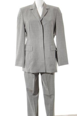 Windsor Pantalone da abito grigio puntinato stile professionale