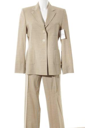 Windsor Anzughose sandbraun meliert Business-Look
