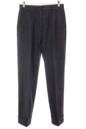 Windsor Suit Trouser black-grey pinstripe business style