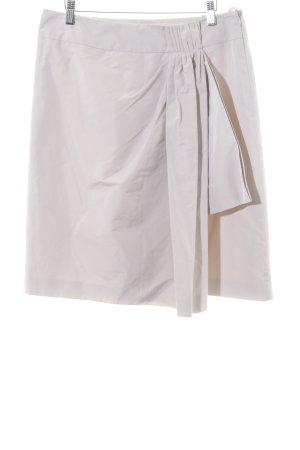 Windsor Falda asimétrica beige claro estilo sencillo