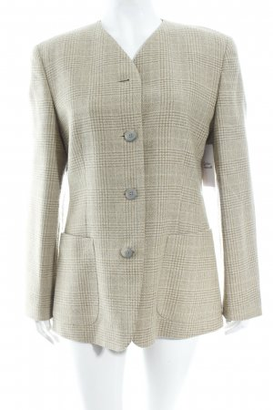 Windsor Blazer beige Glencheckmuster Business-Look