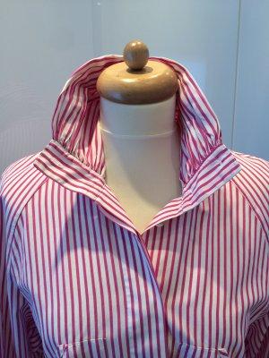Windsor Bluse pink weiß gestreift