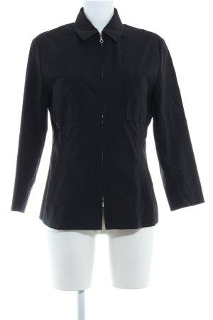 Windsor Blusenjacke schwarz Casual-Look