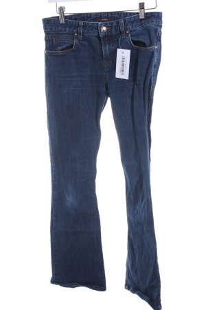 Windsor Boot Cut Jeans dunkelblau Casual-Look